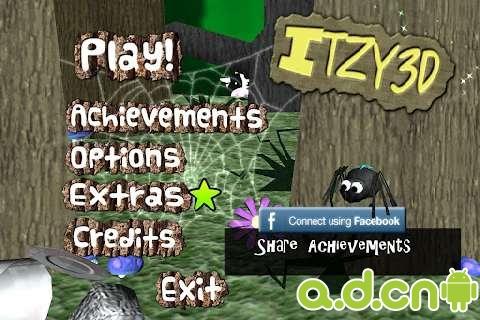 蜘蛛世界3D Itzy3D