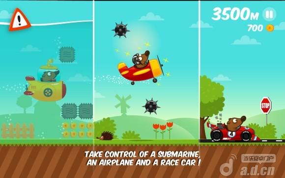 太空狗跑酷 Space Dog Run v1.1.5-Android益智休闲類遊戲下載