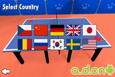 乒乓球 Table Tennis 3D