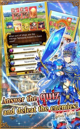 神秘法師世界之謎Quiz RPG: World of Mystic Wiz v1.3.5-Android角色扮演類遊戲下載