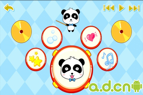 寶寶童謠之樂器Baby Nursery rhyme-instrumenta v4.23-Android益智休闲類遊戲下載