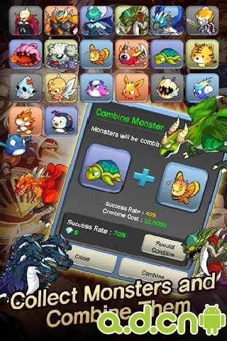 怪獸軍閥 Monster Warlord v1.2.3-Android养成游戏類遊戲下載
