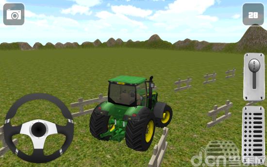 拖拉机停车3D Tractor Packing