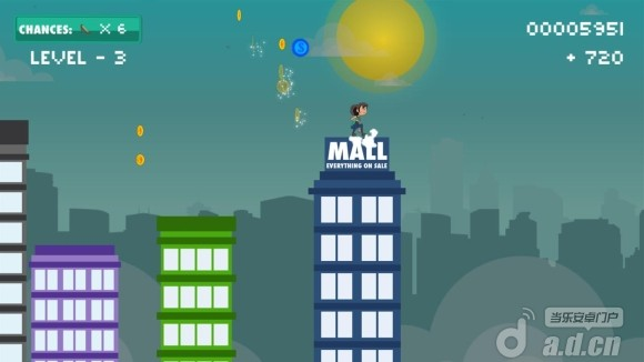 尖峰跳躍 Sales Rush v1.0.2-Android益智休闲類遊戲下載